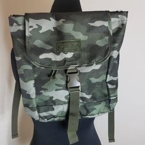 PINK Victoria's Secret Camouflage Mini Backpack